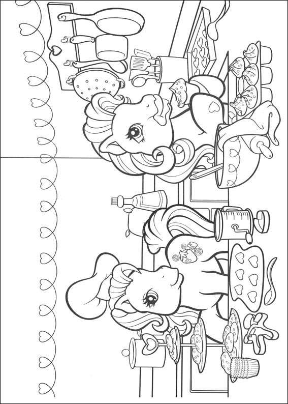 Coloring Pages My Little Pony Animated Images Gifs