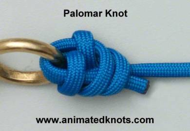 Animated Knots By Grog How To Tie Knots Fishing