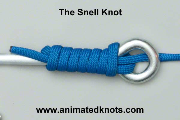 Snell Knot How to tie a Snell Knot Knots