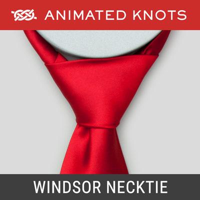 windsor necktie knot how