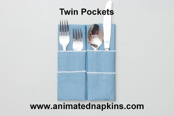 twin pockets napkin how