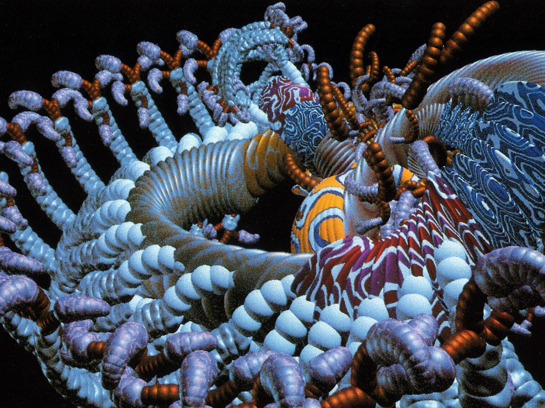 Animate Films Biogenesis By William Latham Film Stills