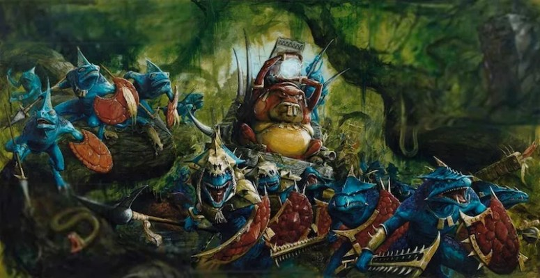 Animation Figurines Decors - Hommes- lézards Warhammer