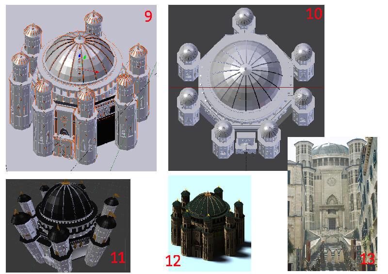 Animation-Figurine-Décors-Temple-de-Baelor-moodboard-2-