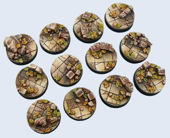 Socle texturé pour figurines 28mm