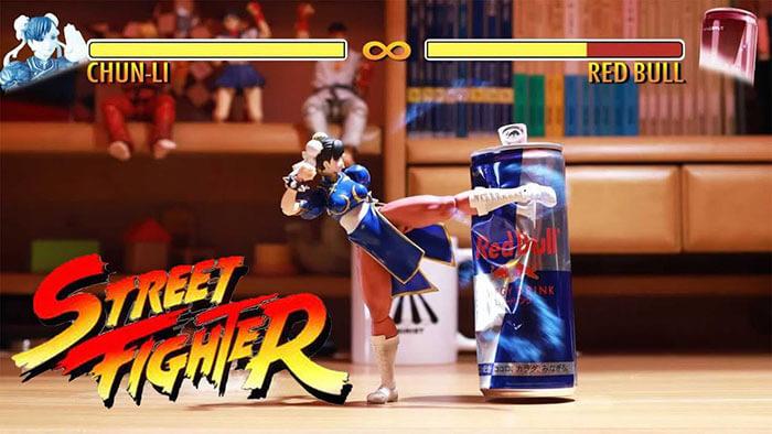 Animación-figuritas-Escenografía --- Animista-stop-motion-animador --- Chun-Li-street-fighter