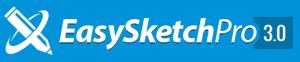 Easy sketch pro logo