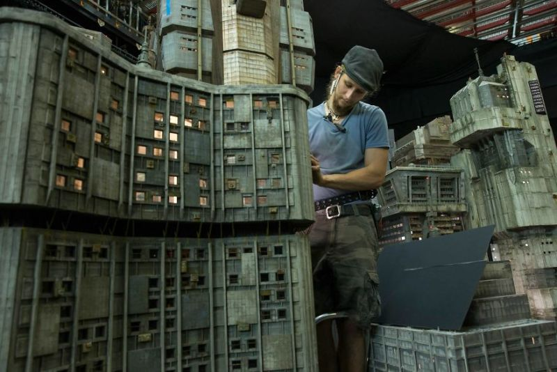 Blade Runner 2049 sets were actually made from miniatures