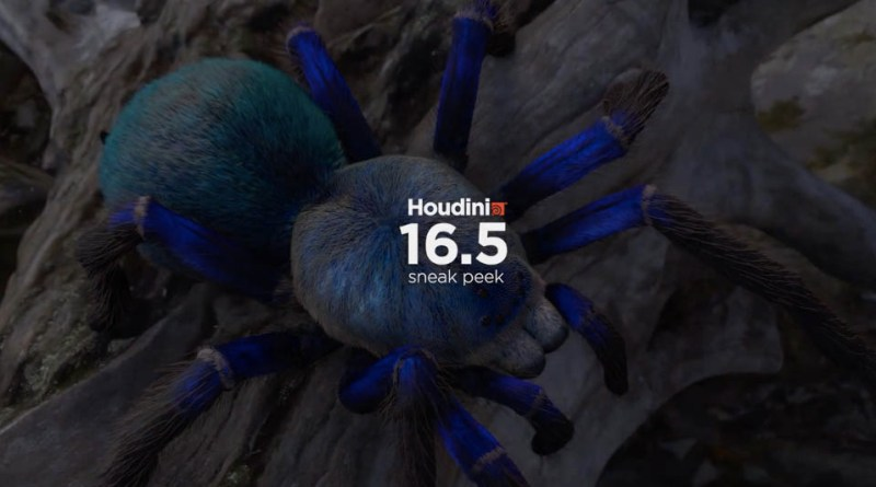Houdini 16.5 New Features