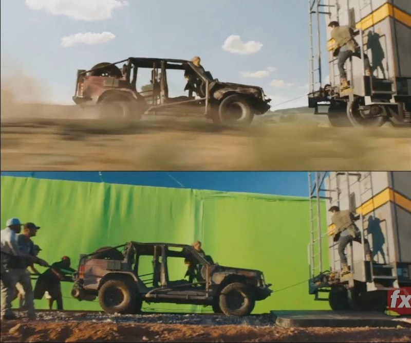 Maze Runner: The Death Cure VFX