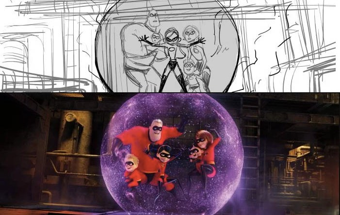 Incredibles 2 Animation Progress