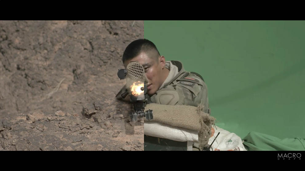 Operation Red Sea Vfx Breakdown Animation Boss