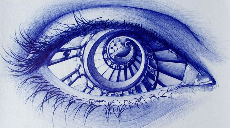 Photorealistic Pencil and Ballpoint pen drawings