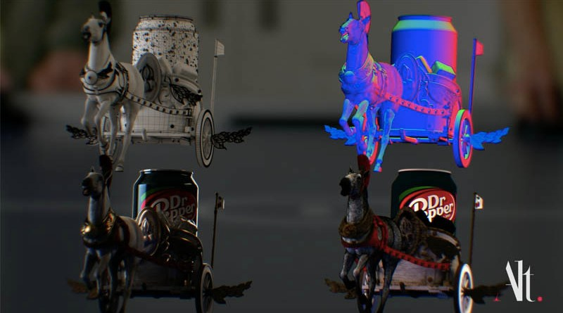 Dr Pepper Cherriot commercial VFX Breakdown