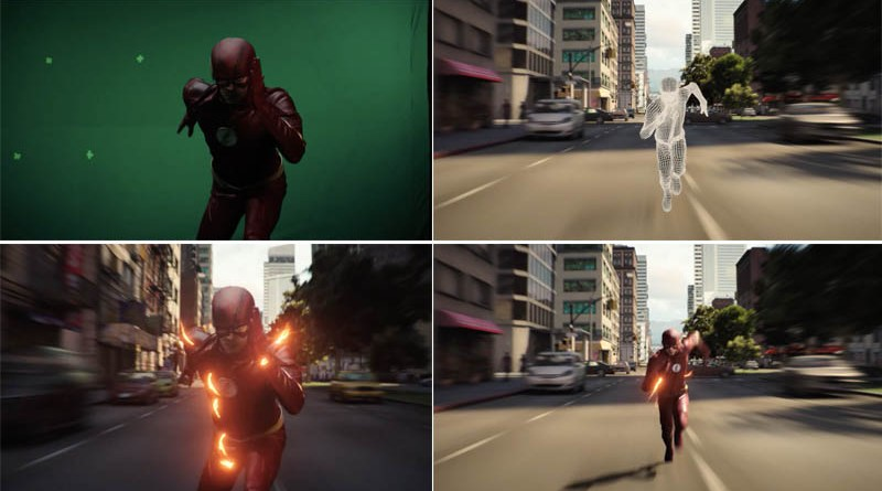 The Flash VFX breakdown