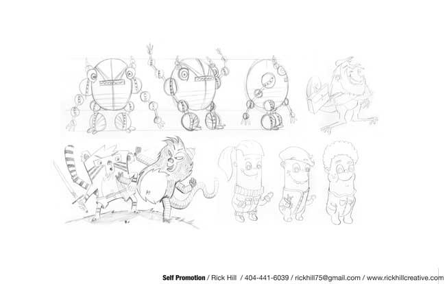 Character Design Jobs In Atlanta : Rick hill animation insider