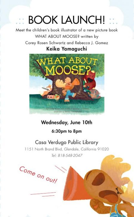 What about Moose book launch