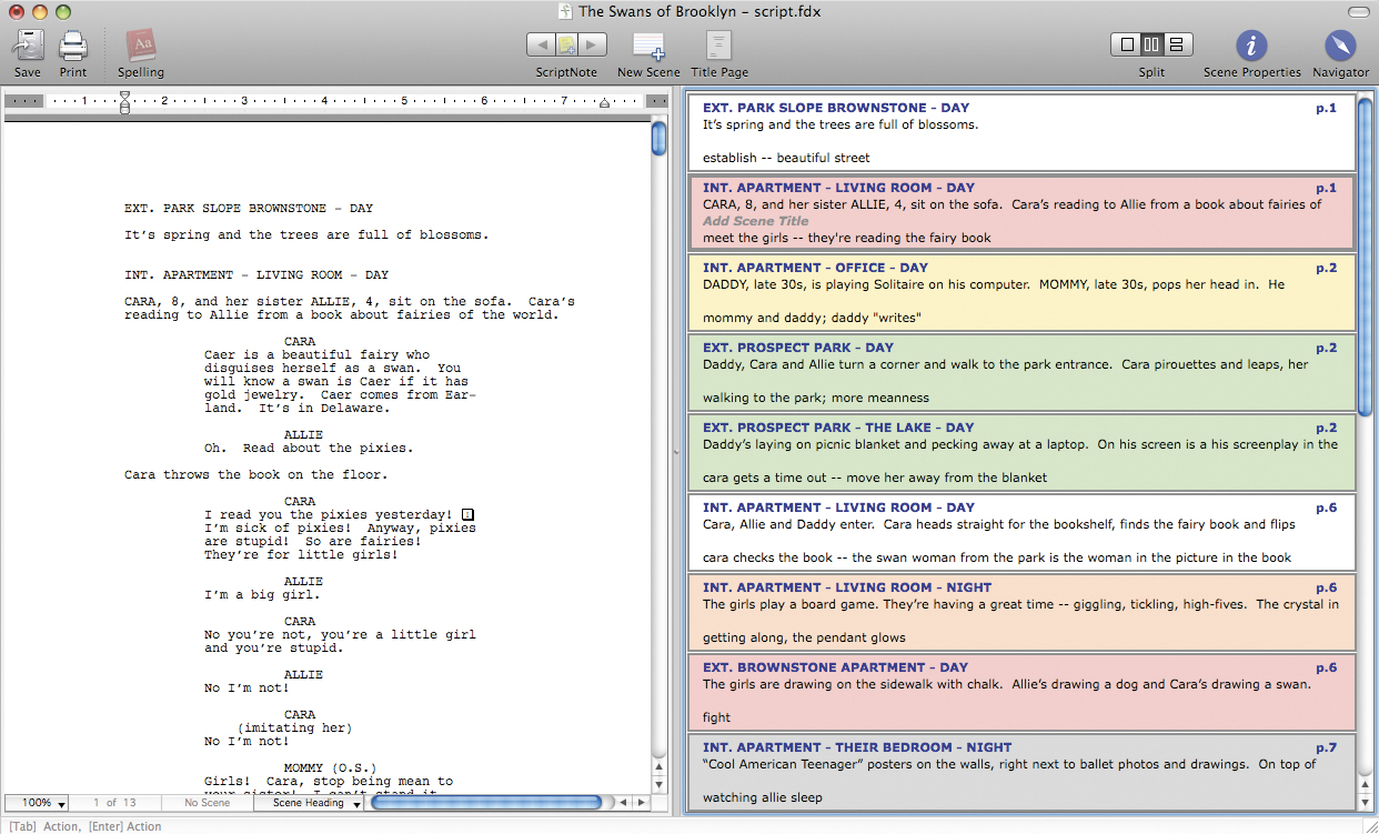 script writing software mac Read reviews, compare customer ratings, see screenshots, and learn more about writer - free fountain screenwriting tool download writer - free fountain screenwriting tool for macos @@minimumosversion@@ or later and enjoy it on your mac.