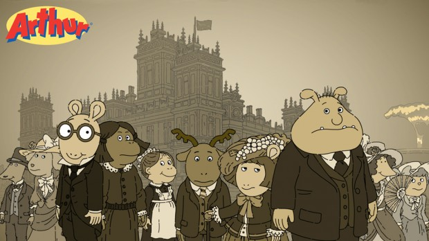 Nike Animated Wallpaper Arthur Gets Aristocratic In Downton Abbey Episode