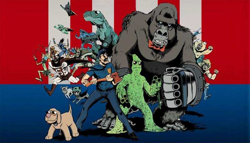 Cartoon Girl Wallpaper Hd Fox Orders More Axe Cop High School Usa