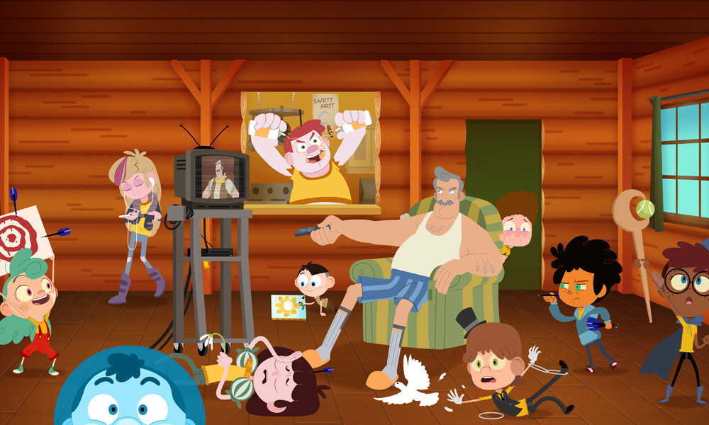 Gravity Falls Wallpaper Anime Exclusive Clip Camp Camp S4 Bunks With Rooster Teeth