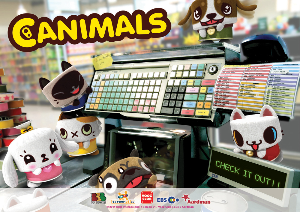 Canimals to Pounce in France This Fall
