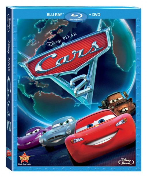 Cars 2 Discs Ready To Roll On Home