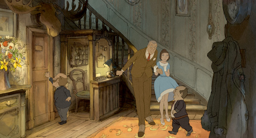 Very Simple Girl Wallpaper Chomet S The Illusionist Opens On Saturday Animation