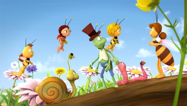 Studio 100 S Maya The Bee To Buzz On Disney Jr Asia