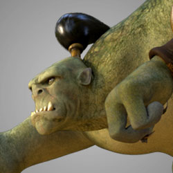 AM Rig Ogre Animation Characters