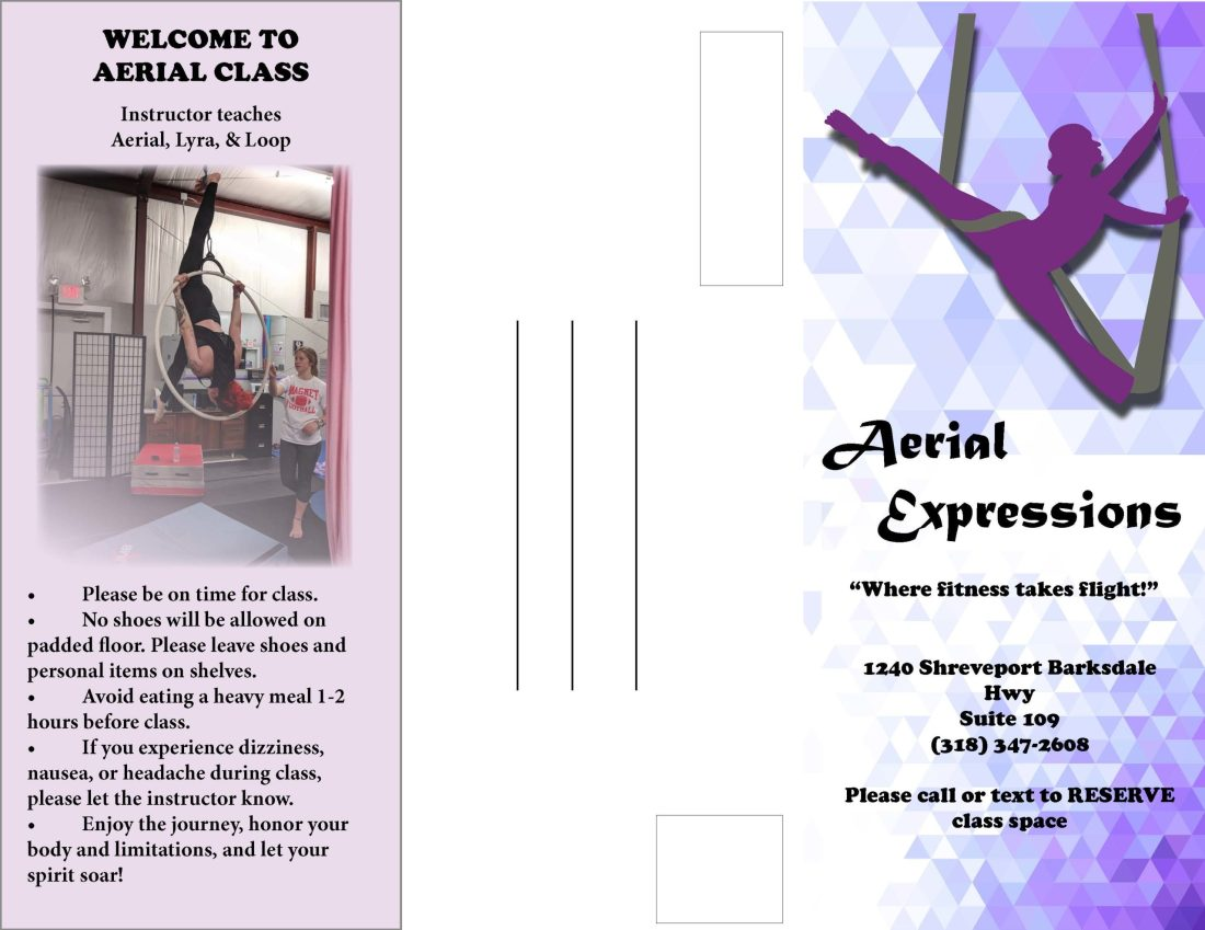 Kiana Hudson Aerial Expressions Brochure Exterior