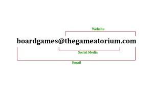 Madison McCormick Gameatorium Business Card Back
