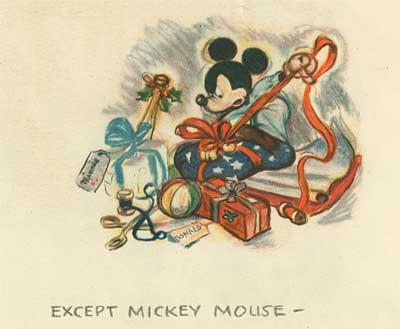 Illustration Disney Christmas Cards AnimationResources