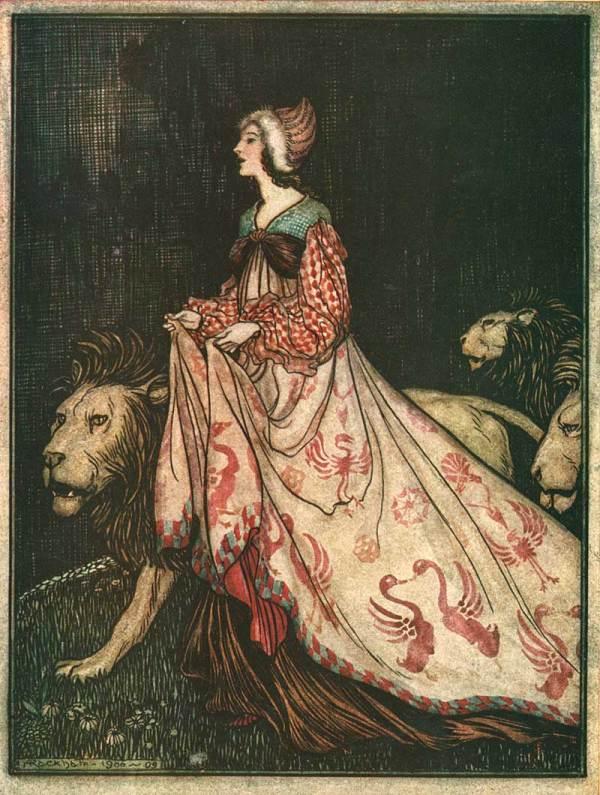Arthur Rackham Fairy Tale Illustration