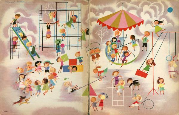 Illustration Mary Blair Song Book - Animationresources