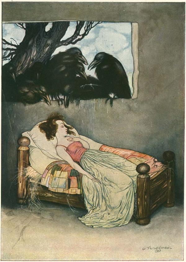Illustration Gustaf Tenggren' Grimm' Fairy Tales
