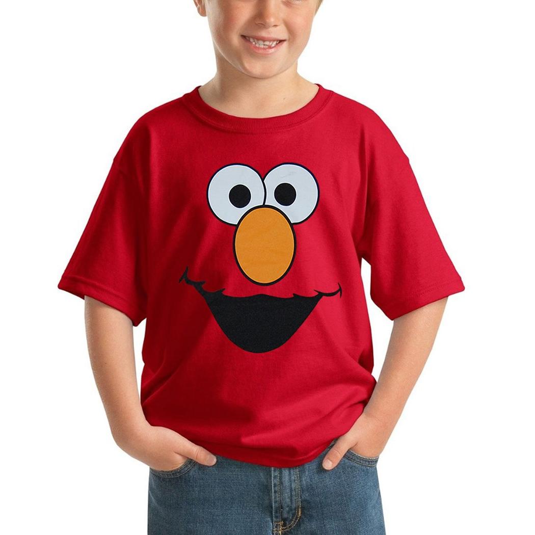 Sesame Street Elmo Face
