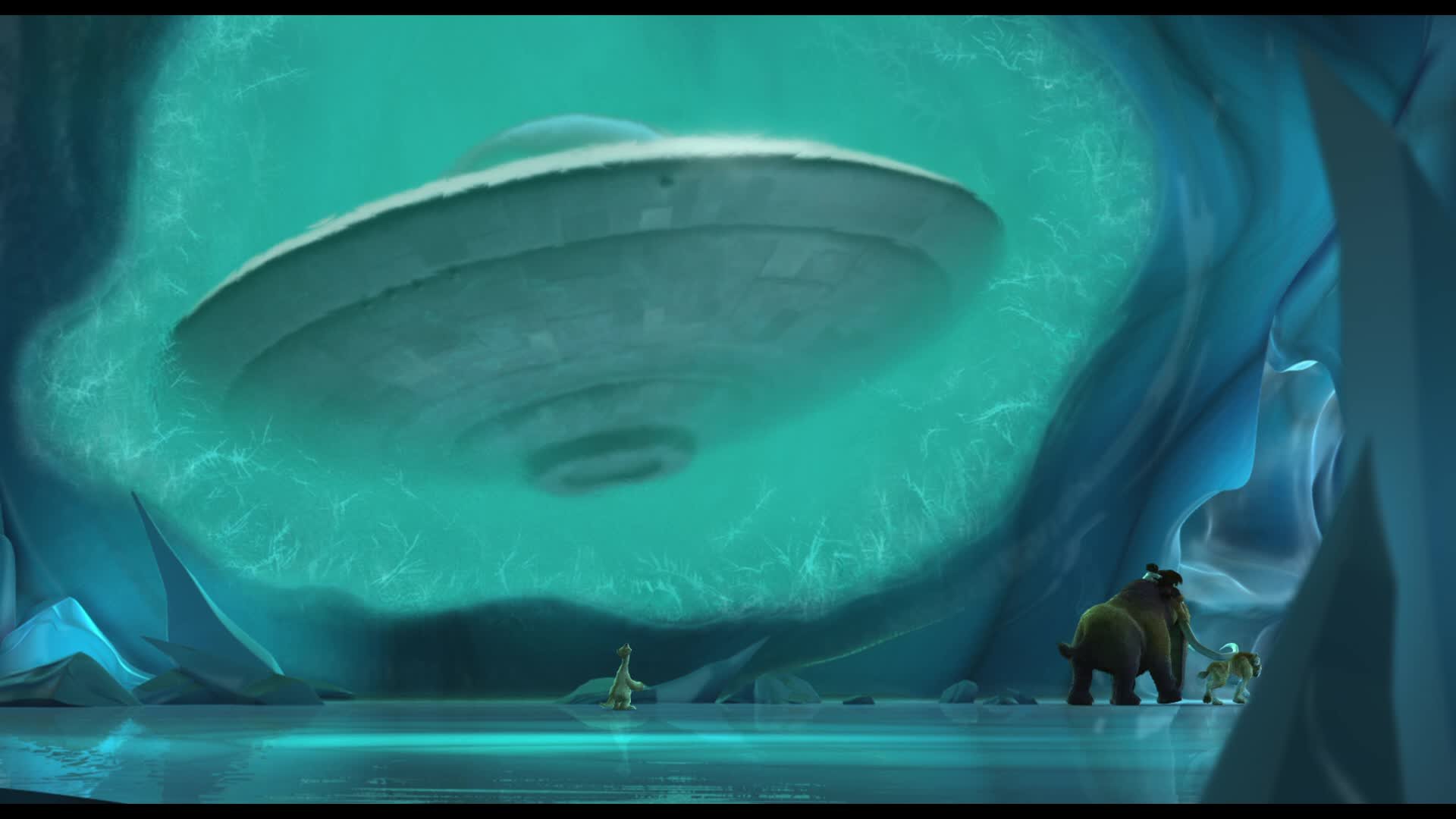 Screen Shot Wallpaper Gravity Falls References In Ice Age