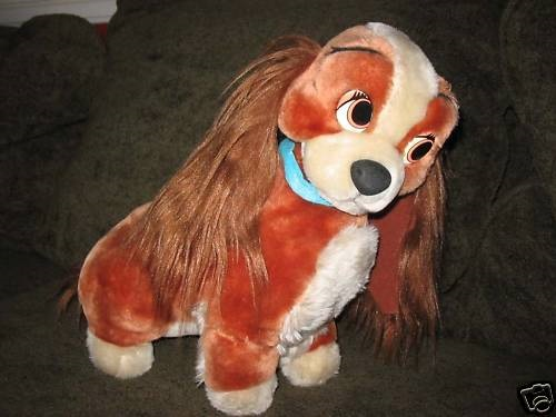 Lady and the Tramp Vintage Merchandise  Lady  The Tramp