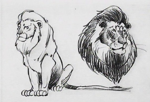Character concept art © The Lion King