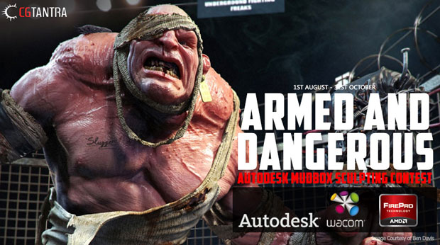 CGTANTRA launches a 3 month autodesk mudbox scultping
