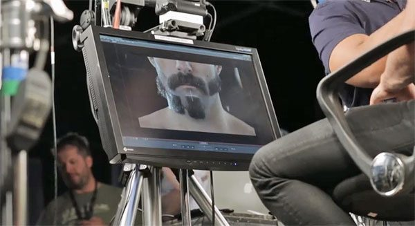 Behind the scenes of the Braun Beardimation video.