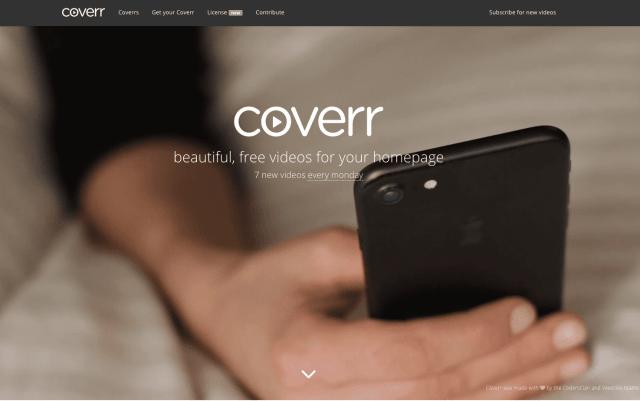 Vidéos gratuites: Coverr