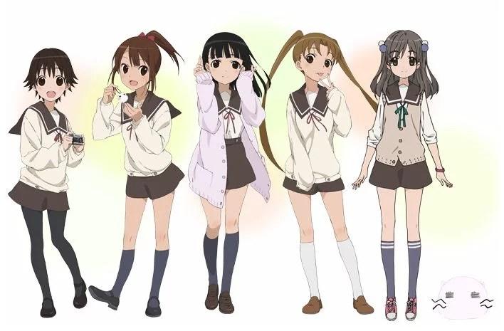 Tamayura Characters