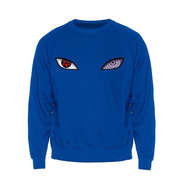 Sharingan Eye Long Sleeve Sweater