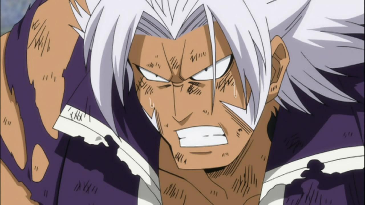 elfman angry anime evo
