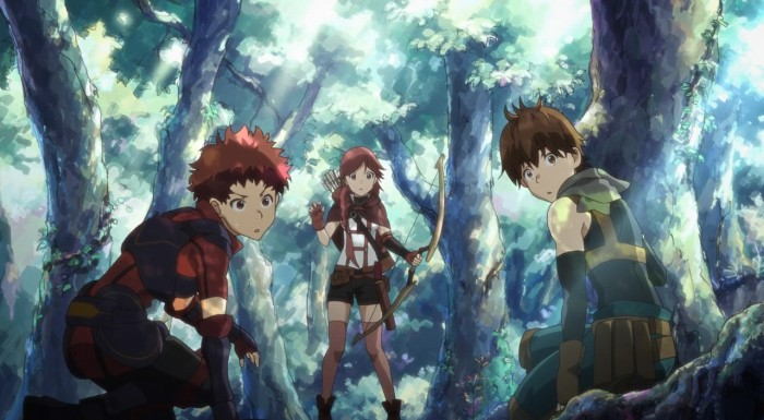 And You Thought There Is Never A Girl Online Wallpaper Hai To Gensou No Grimgar 01 First Look Anime Evo