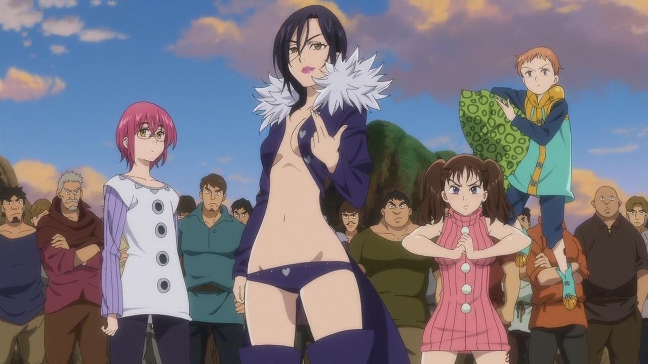 As Regras dos Sete Pecados Capitais (Nanatsu no Taizai Seisen no Shirushi - Episódio 02]