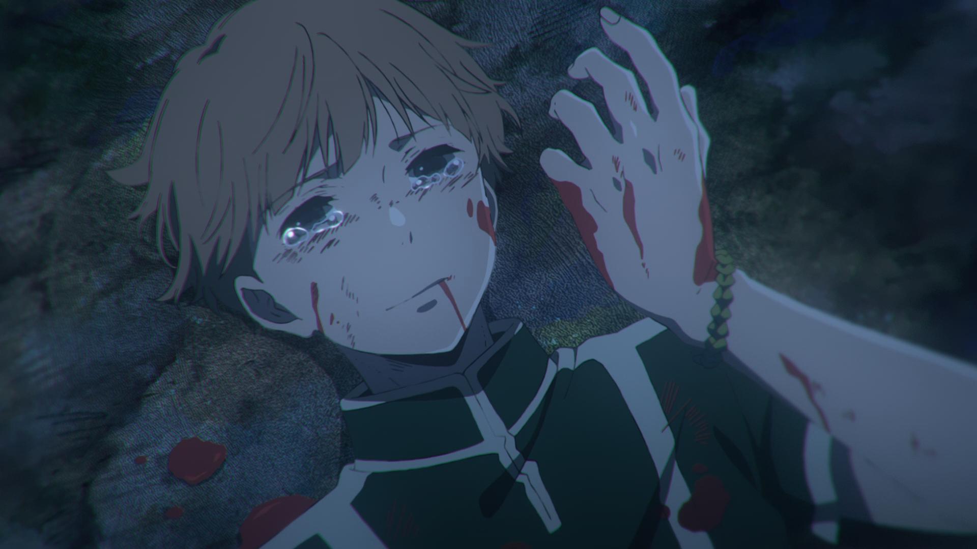 Very Sad Girl Boy Wallpaper Children Of The Whales 08 Anime Evo