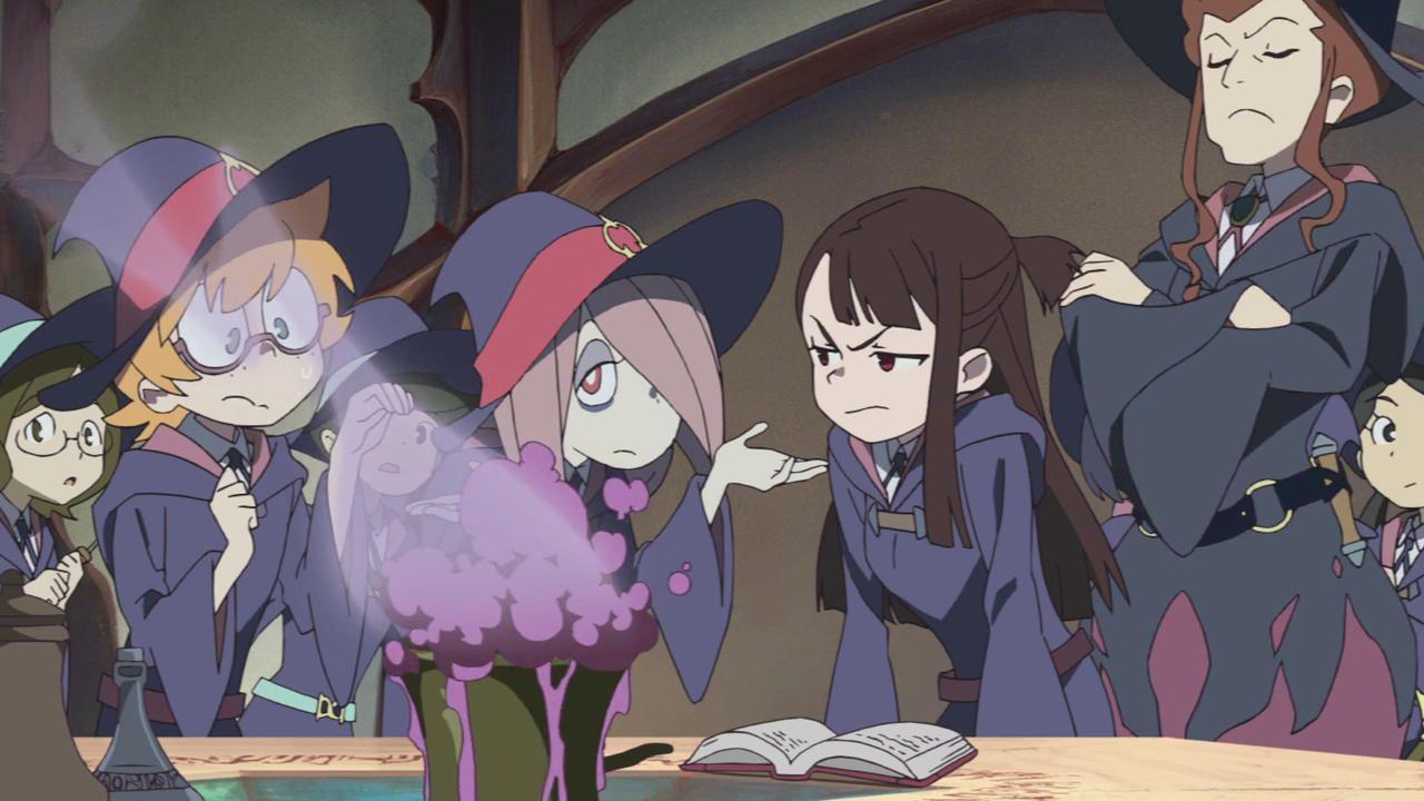 """Résultat de recherche d'images pour """"little witch academia"""""""